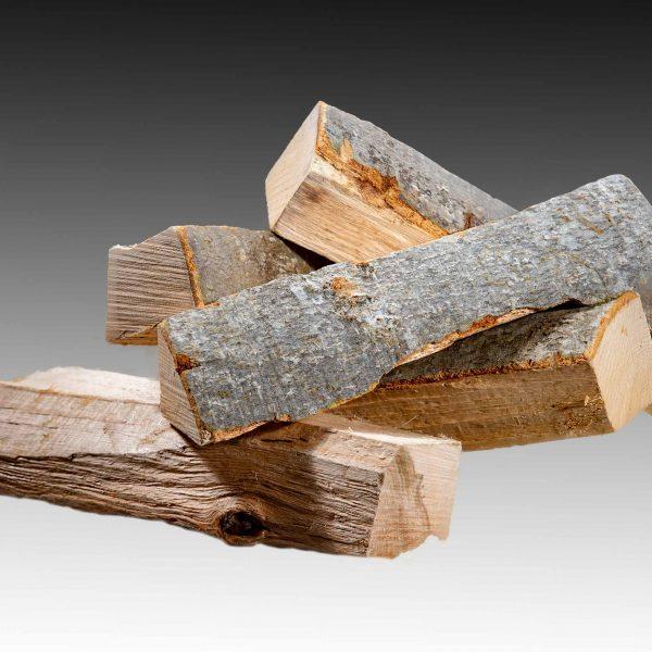 Holzscheitel Buchenholz Brennholz Wecker