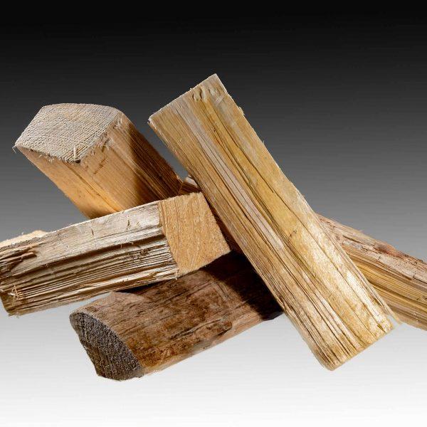 Holzscheitel Fichtenholz Brennholz Wecker