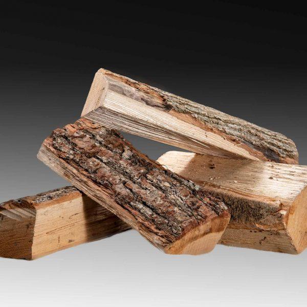 Holzscheitel Hartholzmischung Brennholz Wecker